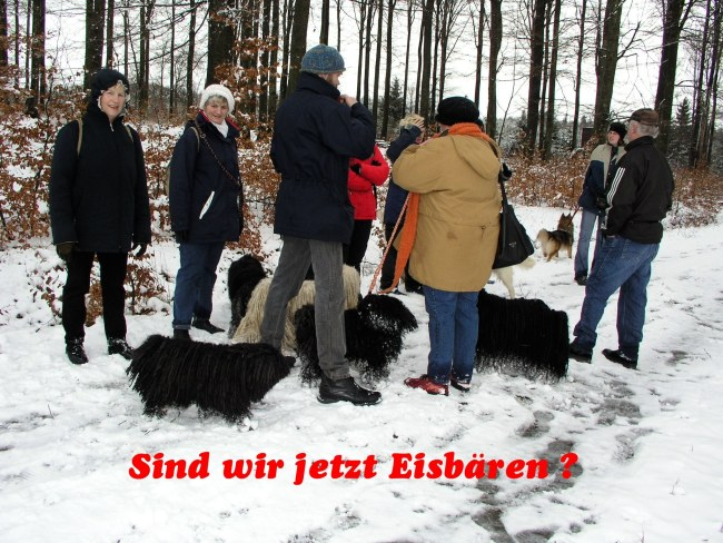 Winter-Wanderung in Belg