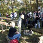 Puli Treffen Wedemark 2005 Vorbereitung