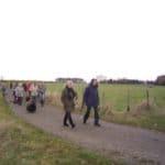 Weihnachtsspaziergang im Drachenfelser Ländchen flott voran