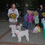 Klubausstellung in Haltern am See dank an Ausstellungsleiterin