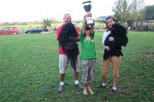 Puli Züchter von den Anglersachsen Sieger