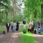 Puli Wanderung in Echt in Holland Gruppe