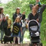 Puli Wanderung in Echt in Holland tolle Gespäche