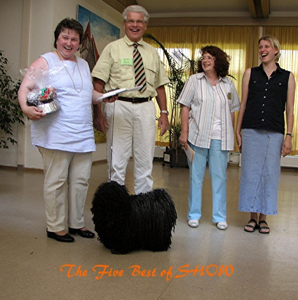 The five best of show