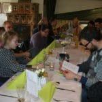 Weihnachtsfeier 2009 Menüauswahl