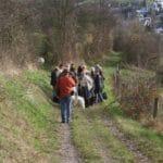 Weihnachtsfeier 2009 Wanderung