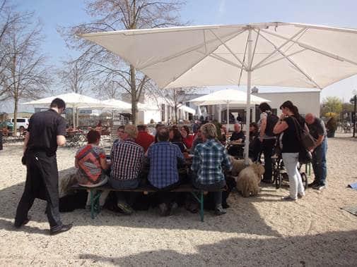 Frühlingswanderung der Landesgruppe Mitte in Gau Algesheim 4