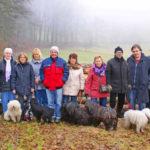Wanderung über den Felsberg Gruppenfoto