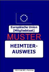 EU Heimtierpass