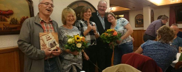 Ehrung langjähriger Mitglieder und Züchter des Jahres