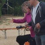 Klubausstellung Bodensee Hufeisenwerfen Yvonne