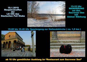 Neujahrstreffen der LG Ost @ Parkplatz am Friedhof Sacrow | Potsdam | Brandenburg | Deutschland