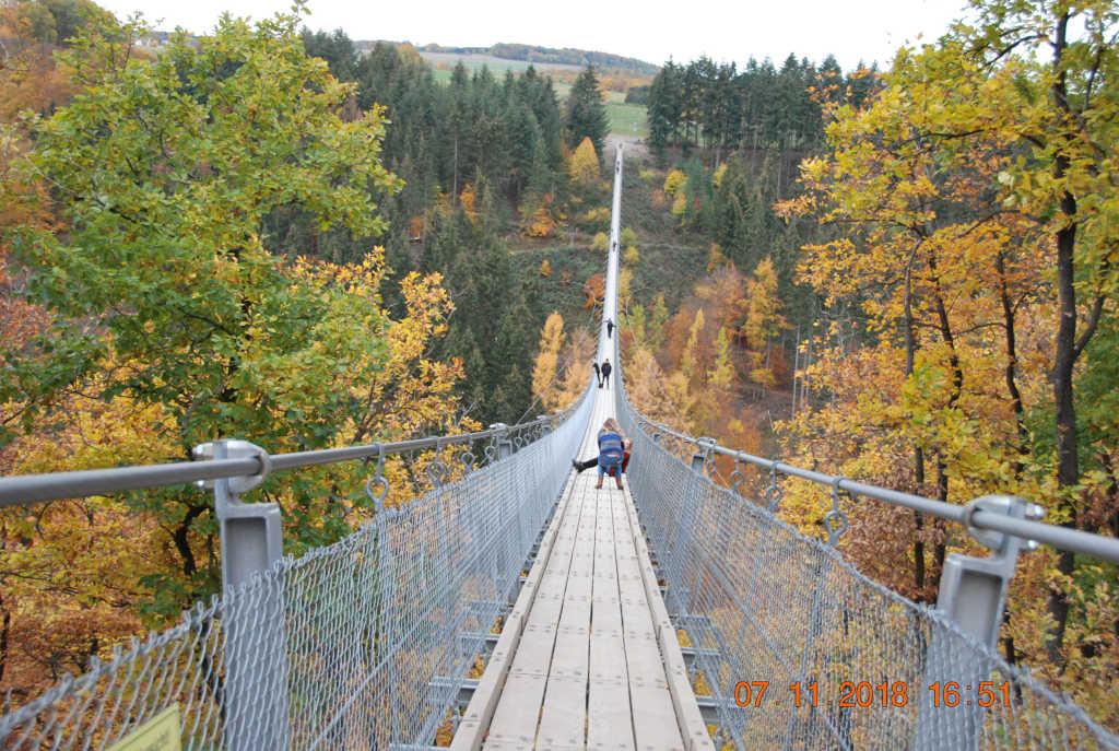 Klubschau 2020 Geierlay Brücke
